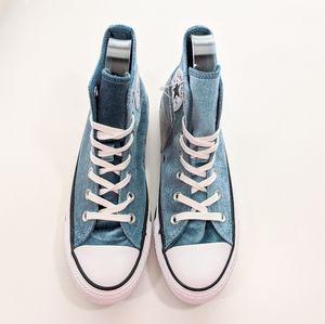 Converse Shoes - Converse CTAS Hi Velvet Teal/White Women's 7